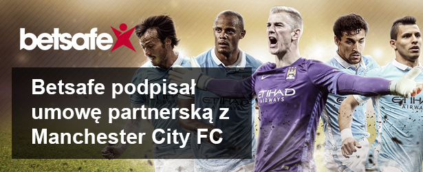 Betsafe został sponsorem Manchester City